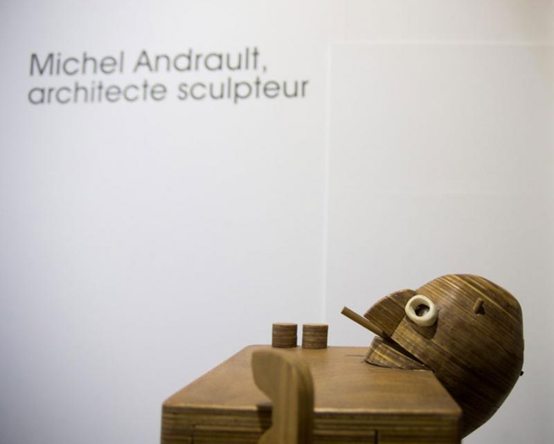 Exposition Michel Andrault - photo © Alex Nollet - La Chartreuse