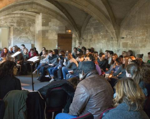 Lectures salles de la boulangerie © Alex Nollet - La Chartreuse
