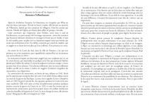 Textes des vidéos de Guillaume Barborini
