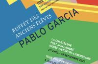 """Affiche """"Buffet des anciens élèves"""" - Pablo Garcia"""